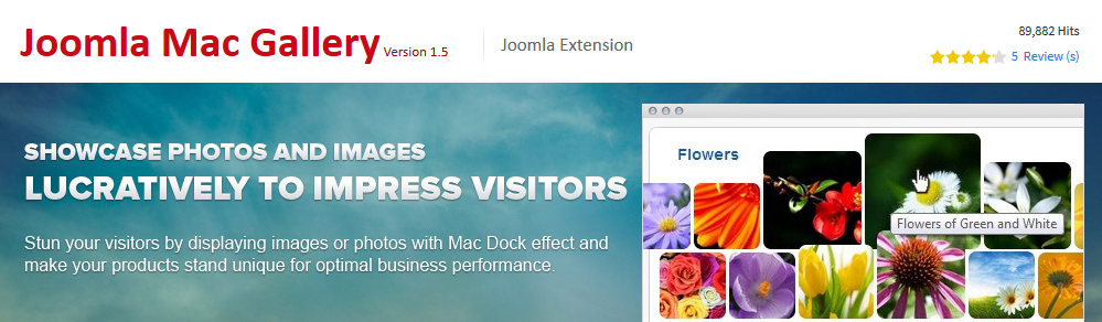 Joomla Mac Gallery