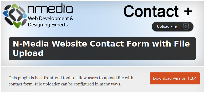Wordpress N-Media Website Contact Form Shell Upload Vuln