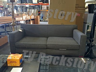 Neal Caffrey's Gray Couch