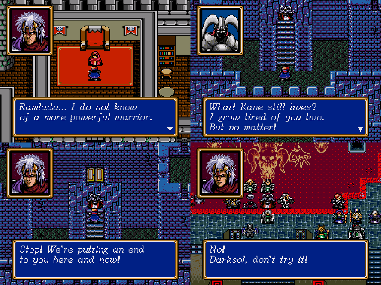 Shining Force Central • View topic - Playable Kane