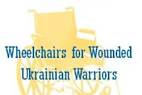 GoFundMe: Wheelchairs for Ukrainian Wounded