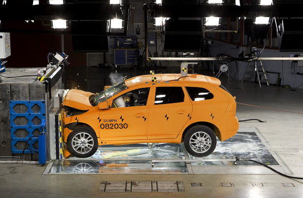 Crumple Zones - Car Safety Systems
