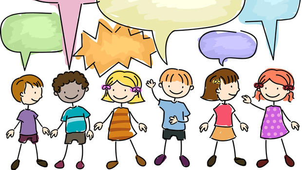 Image result for cartoon children communication