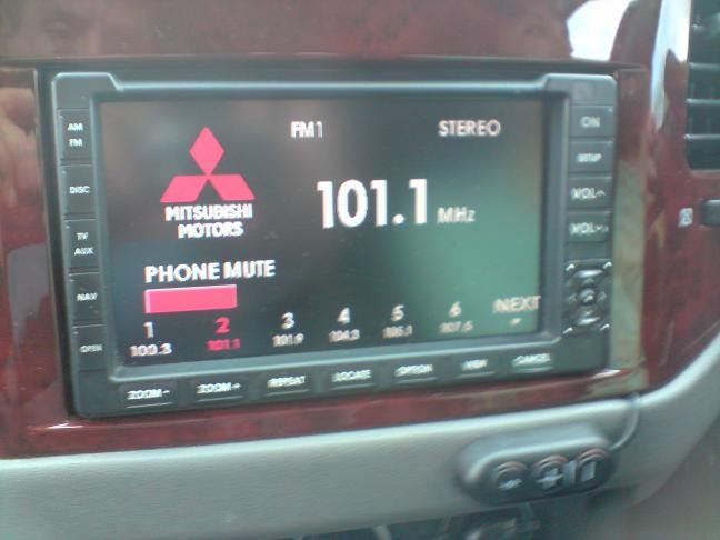 Bluetooth Interface Installation In Mitsubishi Pajero Np