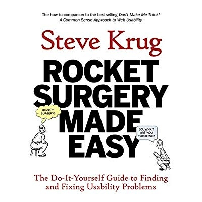 Download rocket surgery made easy the do it yourself guide to download rocket surgery made easy the do it yourself guide to finding and fixing usability problems ebook pdf for free solutioingenieria Choice Image