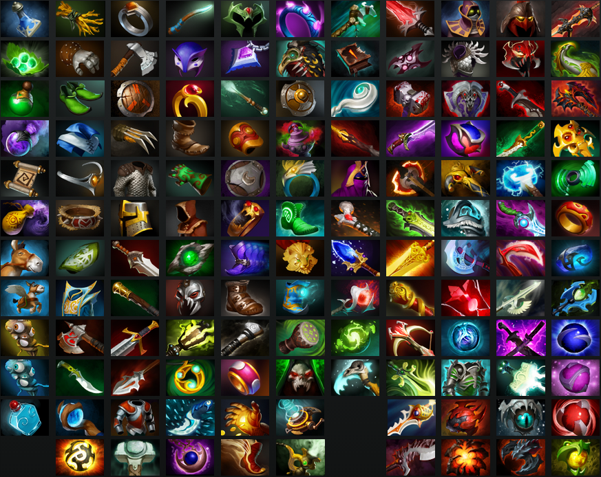 Item: Dota 2 Enhanced Item Icons
