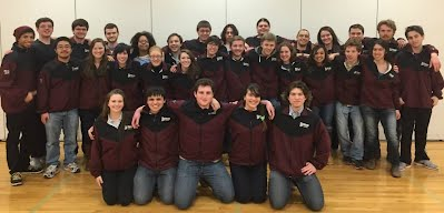 2014-2015 UMass Fencing Team