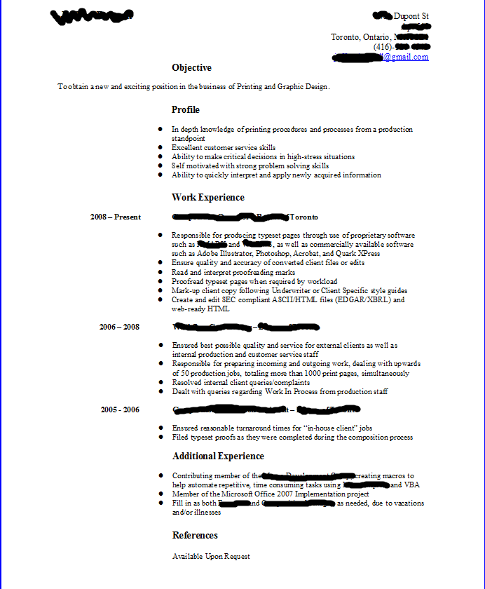 resume format update resume template