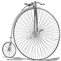 traditional penny farthing