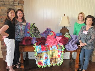 Ronald McDonald House blanket donation