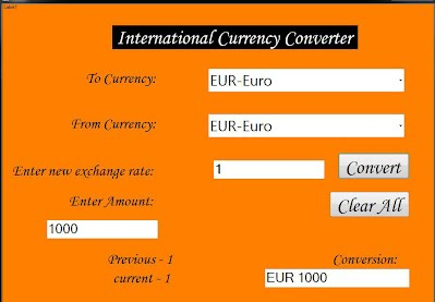 The User Should Be Able To Alter Exchange Rates Used Match Cur Amount In Desired Currency Shown Along With