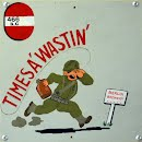 Nose Art - Times A' Wastin'