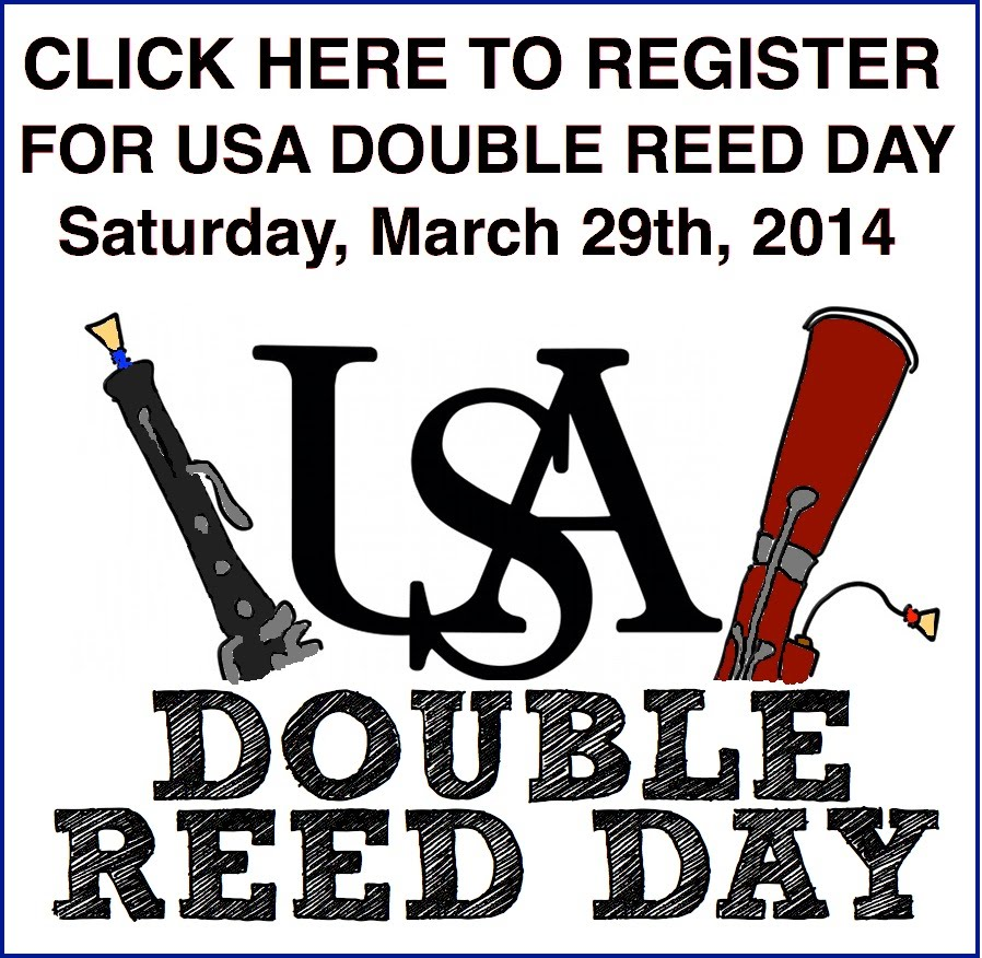 Click here to register for USA Double Reed Day 2014!