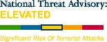 National Threat Advisory, Department of Homeland Security