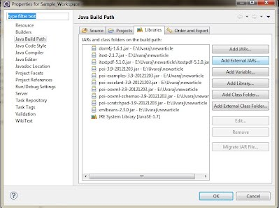 Excel to PDF using Java - Uvaraj - Java and J2ee Learning