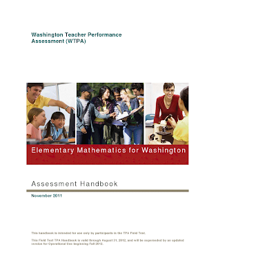 Link to WA TPA Math Assessment Handbook