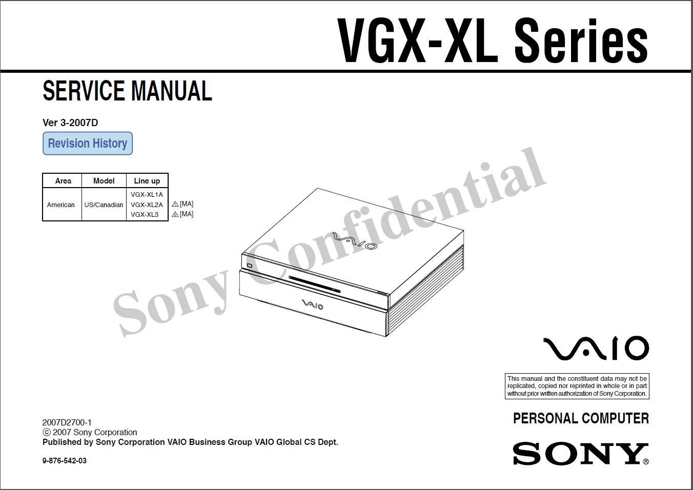 official sony vaio vgx xl service manuals vgx xlpedia the sony rh sites google com sony vaio laptop owner's manual Service Manuals