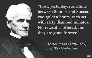 horace mann important dates Ingolstadt