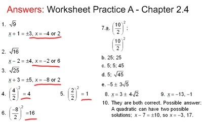 completing the square worksheet algebra 2 answers breadandhearth. Black Bedroom Furniture Sets. Home Design Ideas