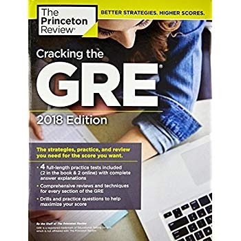 Download Cracking The Gre With 4 Practice Tests 2018 Edition The