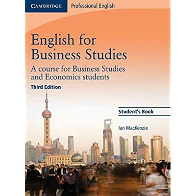 Download English For Business Studies Student S Book A Course For