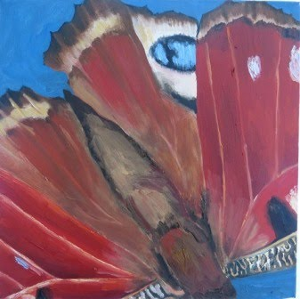 Wing Red Brown Blue, 2013