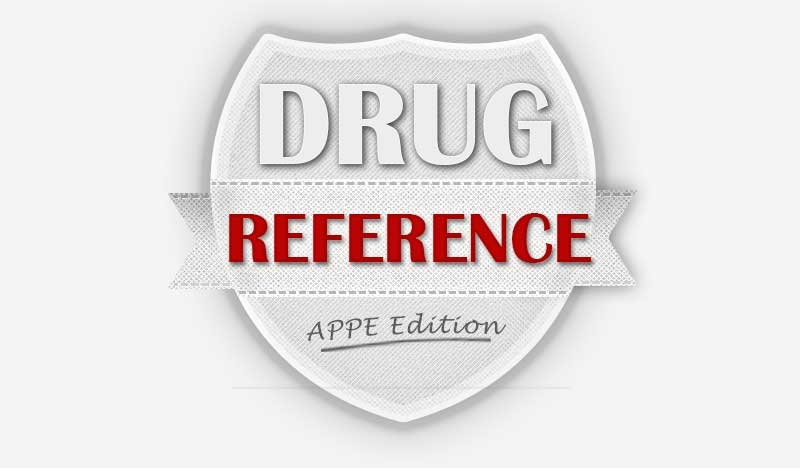 APPE Drug Information Resource