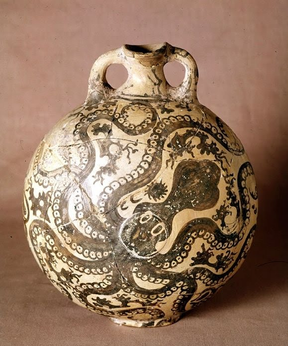 Pictures of Greece - Heraklion-Knossos-0040 - Minoan pottery at ...