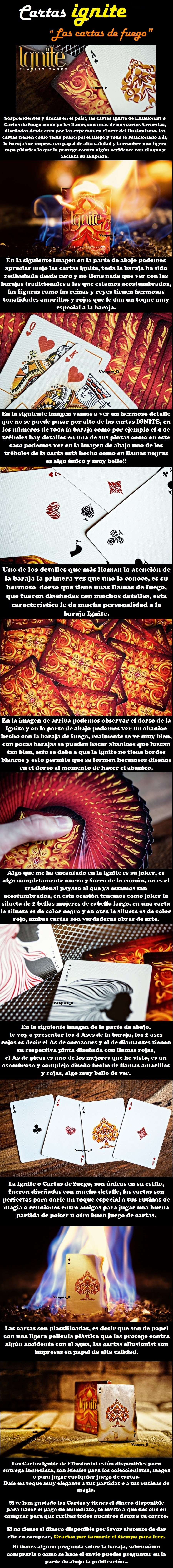 Ignite Cartas de fuego