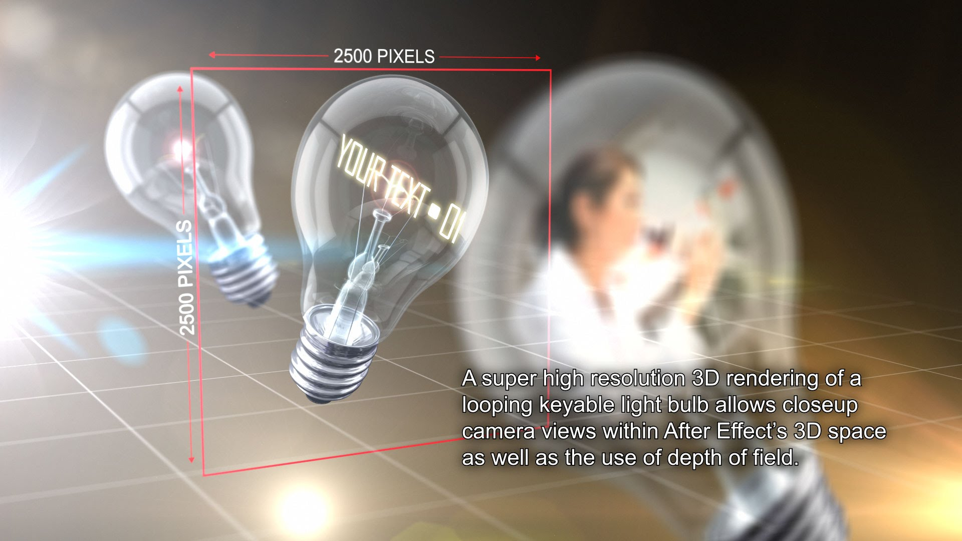 Illuminating Innovation Light Bulb After Effects Template - 4