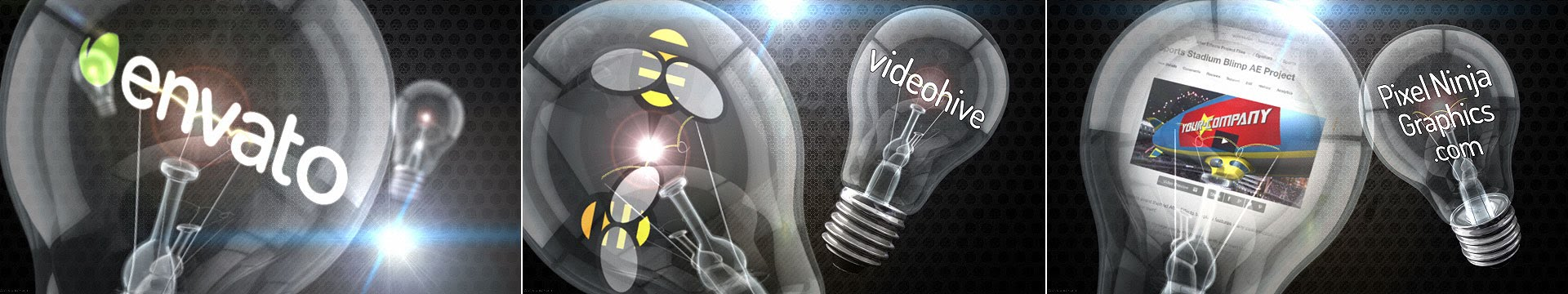 Illuminating Innovation Light Bulb After Effects Template - 1