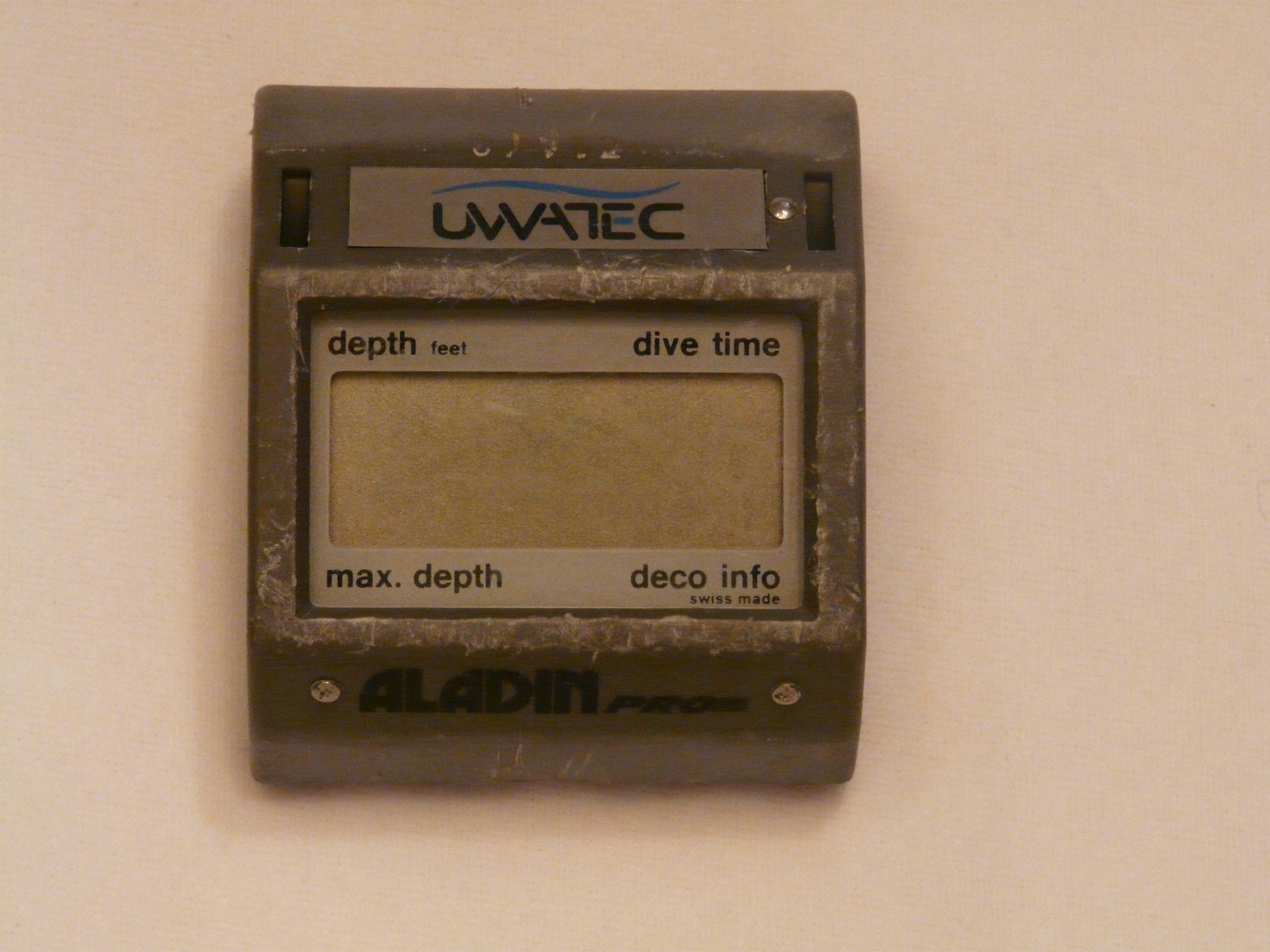 Uwatec aladin pro swiss made dive computer nitrox ebay - Aladin pro dive computer ...