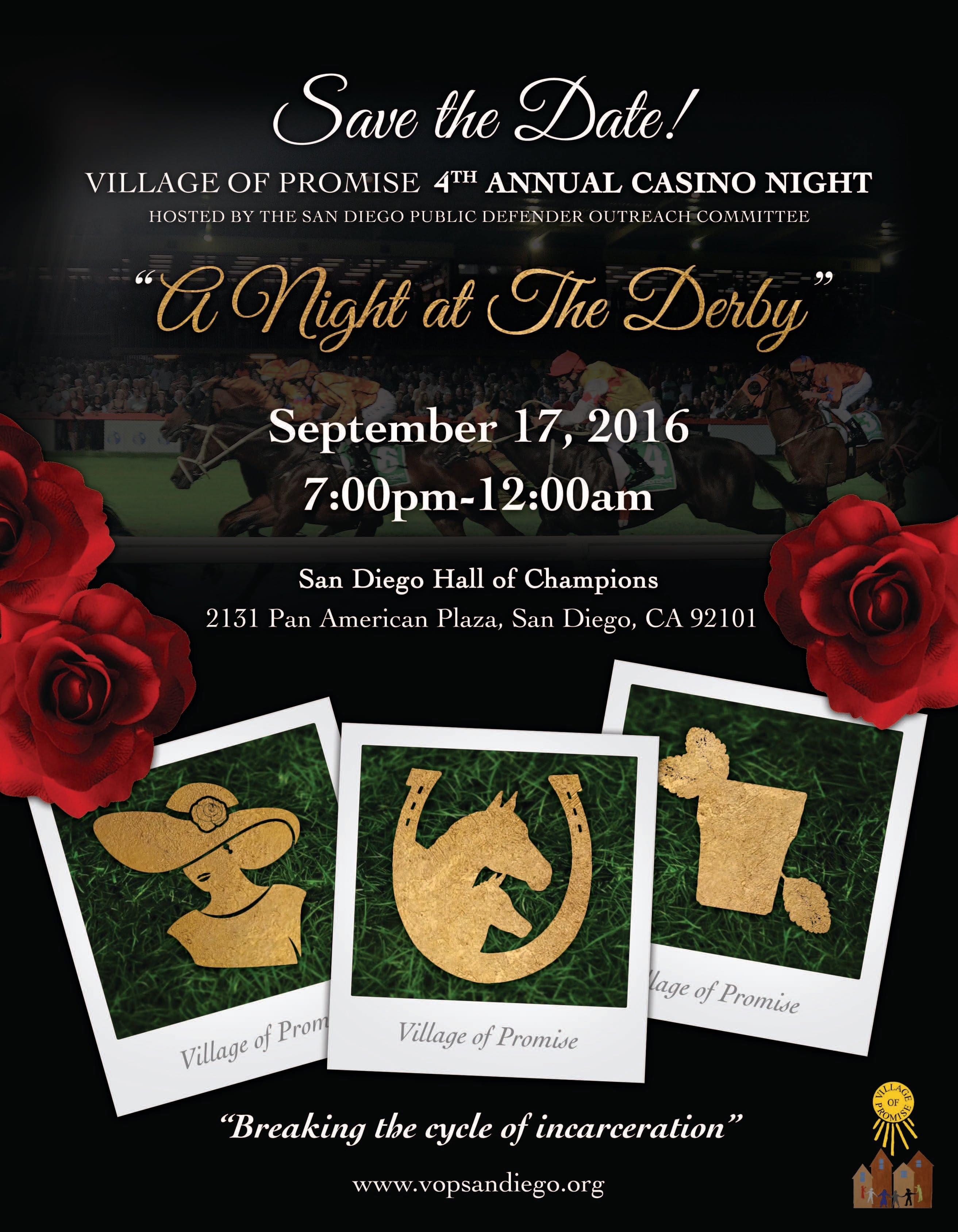 Village of Promise, Casino Night 2016