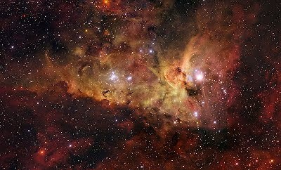 The Nebula Is About 7500 Light Years From Earth And Spans More Than 300 Across Even Though Carina Brighter Four Times As