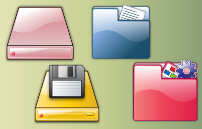Folders and Drives Icon