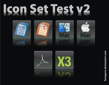 Test Icons Set v2