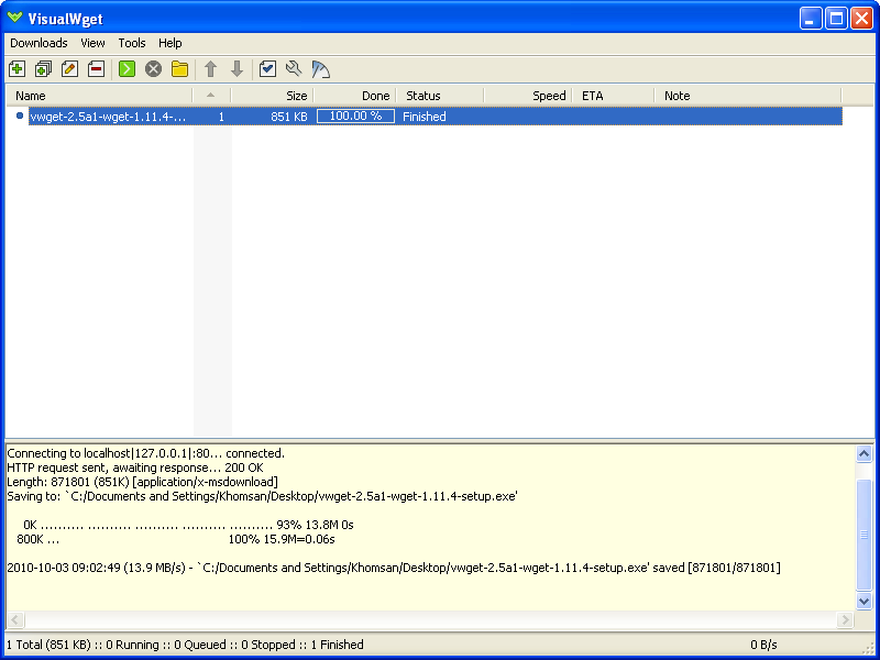 multiple files using wget windows examples