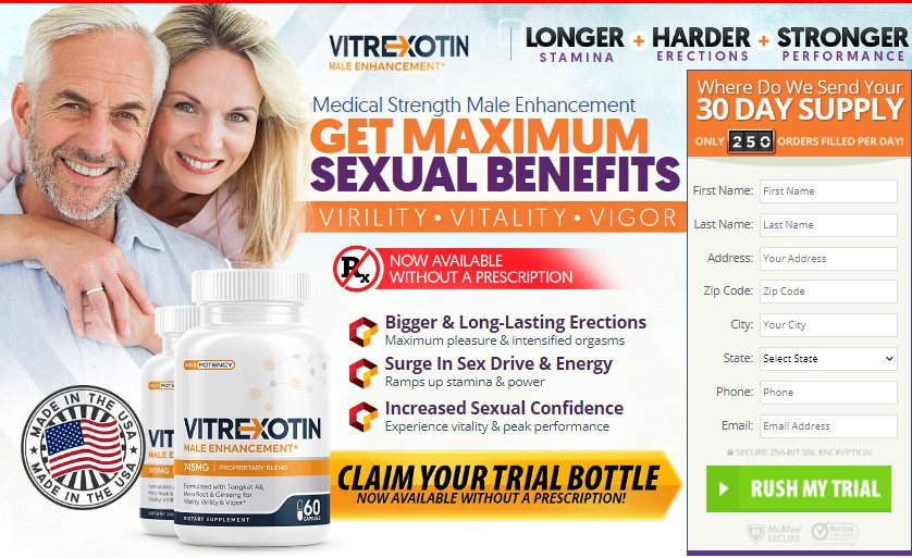 Vitrexotin Reviews | 100% Effective Formula | Does It Help Any ...
