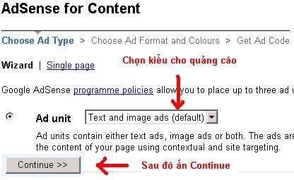 AdPlacement2 Kiếm tiền trên mạng với Google Adsense