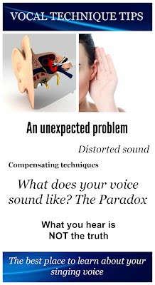 http://www.vocaltechniquetips.com/uncategorized/what-does-your-voice-sound-like-the-paradox/