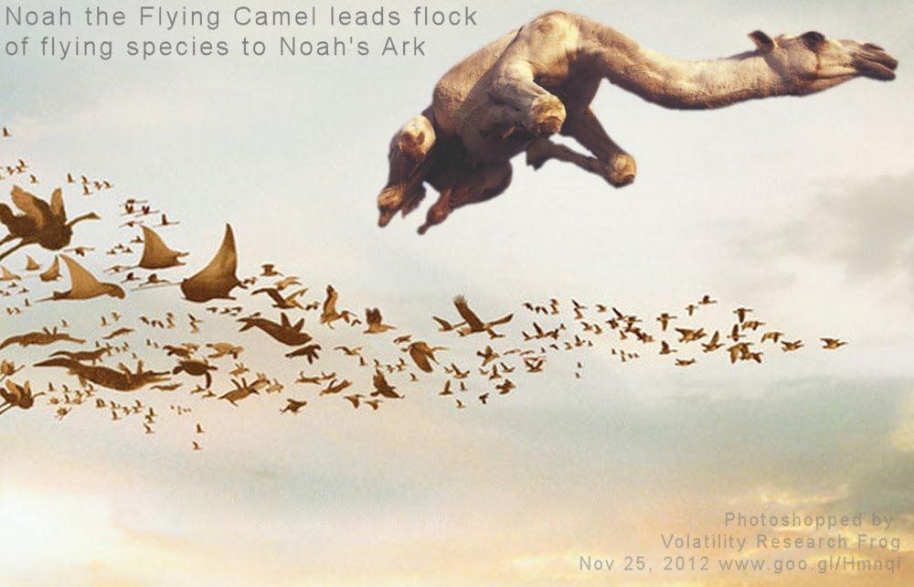 Nov 25, 2012   Noah the Flying Camel leads flock of flying species to real-Noah's Ark