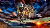 Dec 1, 2012  Flying Camels Love Train at Sunset    Photoshopped by Volatility Research Frog  Dec 1, 2012  www.goo.gl/Hmnqi