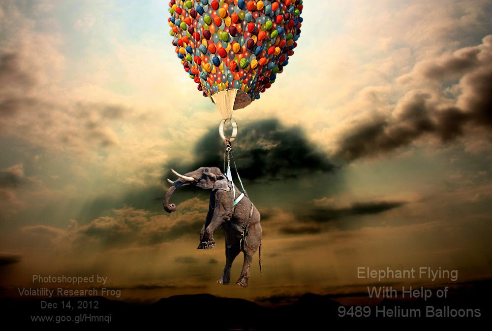 Dec 14, 2012  Elephant Flying With Help of 9489 Helium Balloons