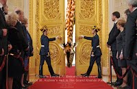 Giraffe Bowing At Welcoming Ceremony Inside St. Andrew's Hall In The Grand Kremlin Palace (Volatility Research) 1000w