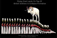 Flying Goat Lands On Top Of British Soldiers In Collapse Formation (Volatility Research) 1000w