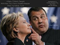 Hillary Clinton Caught With Boy Toy Chris Christie Maybe After Full Body Tuck (Volatility Research) 1000w