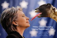 Hillary Clinton Enjoying Kissing Republican's Goat(Volatility Research) 1000w