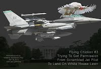 Flying Chicken #3 Trying To Get Permission From Scrambled Jet Pilot To Land On White House Lawn (Night) 1000w2