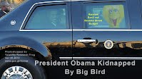 BREAKING NEWS - PRESIDENT OBAMA KIDNAPPED by BIG BIRD (Volatility Research) 1000w