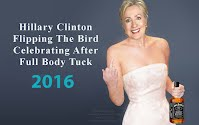 Hillary Clinton Caught FLIPPING the BIRD Celebrating After Full Body Tuck (Volatility Research) 1000h5